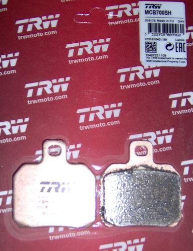 TRW Bremsbelag MCB 700SH