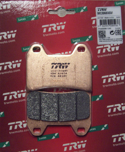 TRW Bremsbelag MCB 721SRQ